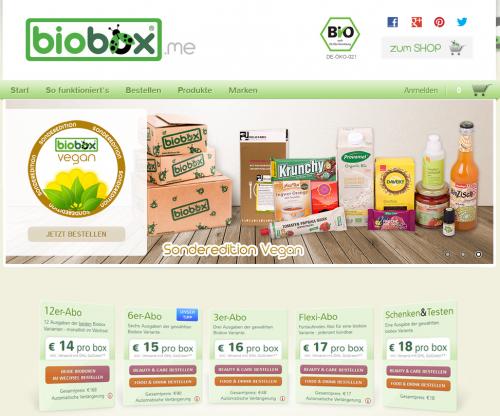 bioxbox.me Website