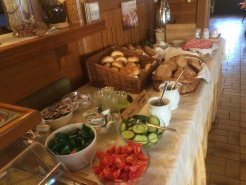 Frühstucksbuffet Zinkenbachmühle