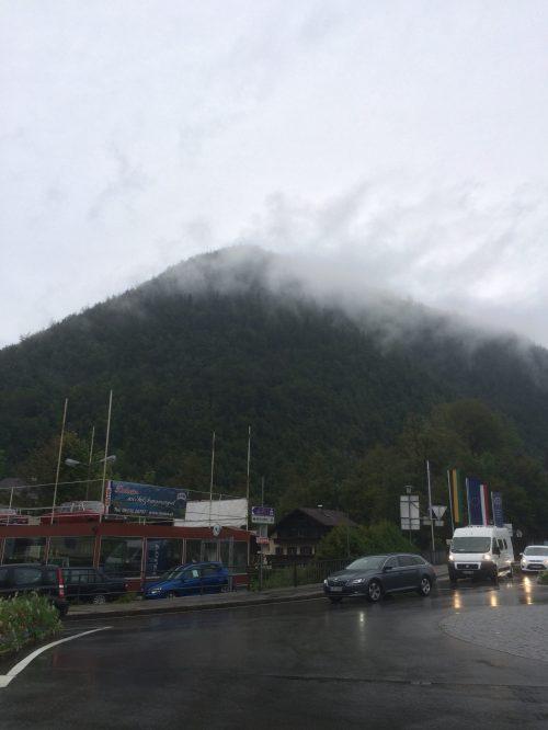 Auf dem Weg zur Kaiservilla - Heute hat sich das Wetter gegen uns entschieden :(