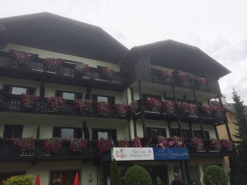 Das Hotel Lindwurm von außen