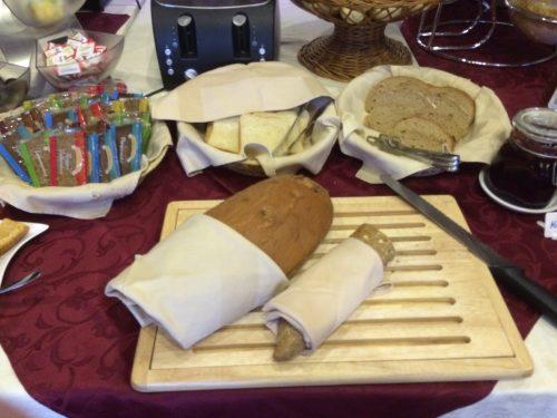 Frühstücks-Buffet im Hotel Lindwurm - Aufschnitt