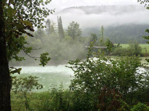 Auf dem Weg zum Abersee