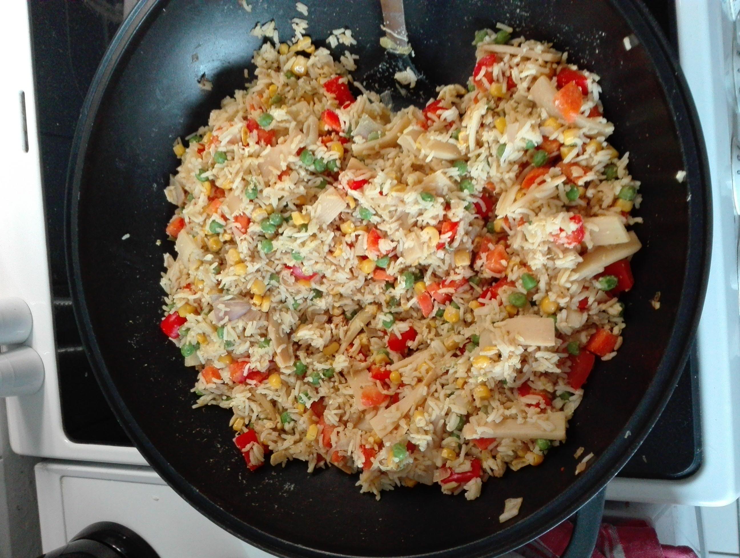 Reispfanne Rezept